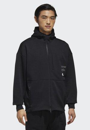 ID HOODIE - Training jacket - black