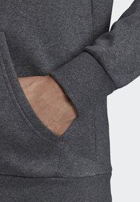 adidas Performance - LINEAR HOODIE - Zip-up hoodie - grey - 4
