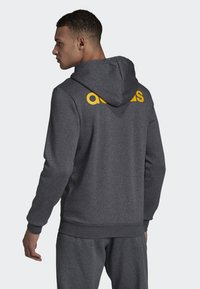 adidas Performance - LINEAR HOODIE - Zip-up hoodie - grey - 1