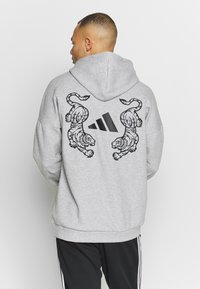 adidas Performance - TIGER  - Bluza z kapturem - grey
