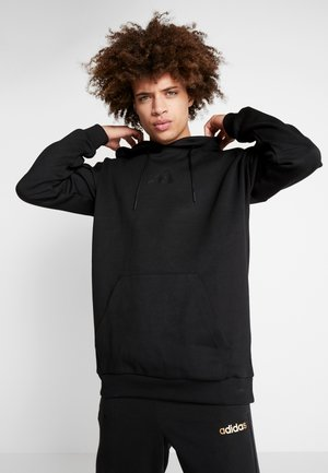 ATHLETICS STREET TIGER HODDIE SWEAT - Bluza z kapturem - black