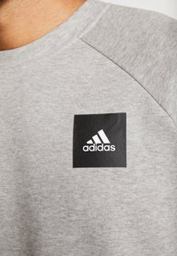adidas Performance - MUST HAVE ATHLETICS LONG SLEEVE PULLOVER - Felpa - grey - 5