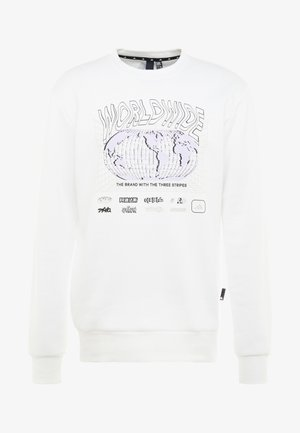 PACK CREW - Sweater - white/black