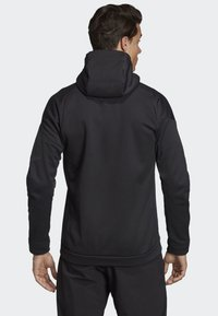 adidas Performance - CLIMAHEAT HOODED FLEECE JACKET - Fleece jacket - black - 2