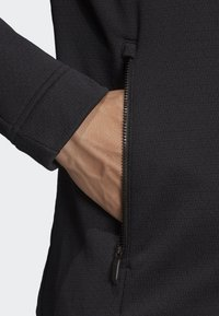 adidas Performance - CLIMAHEAT HOODED FLEECE JACKET - Fleece jacket - black - 5
