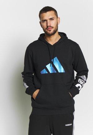 SPACE RACE HOODIE - Bluza z kapturem - black