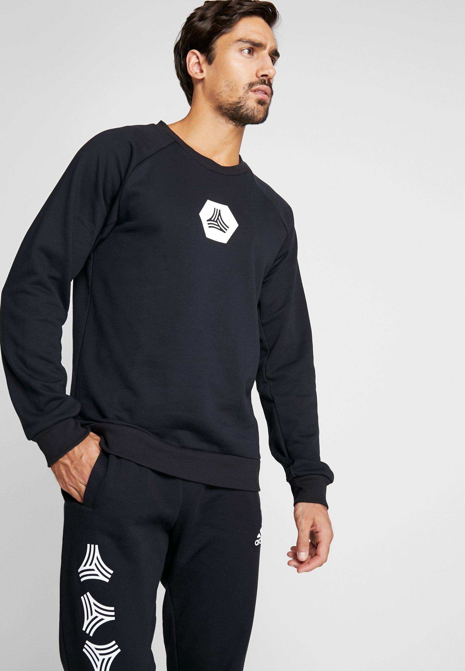 adidas Performance TAN CREW - Bluza - black
