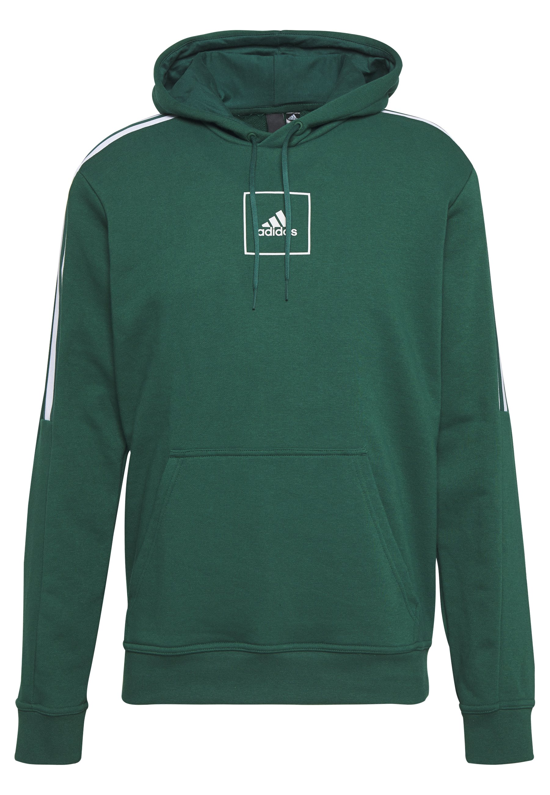 Vêtements adidas Originals TREFOIL Sweat à capuche green