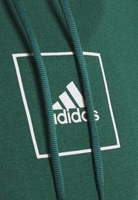 adidas Performance - Bluza z kapturem - green - 2