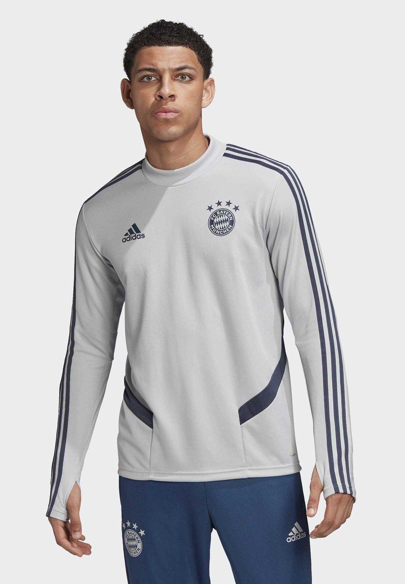 adidas Performance - FC BAYERN TRAINING TOP - Sweater - gray