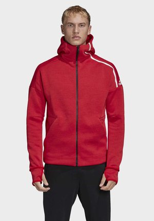 ADIDAS Z.N.E. - Trainingsjacke - red