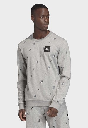 MUST HAVES GRAPHIC CREW SWEATSHIRT - Sweatshirt - grey