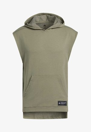 TKO HOODED TEE - Sweat à capuche - green