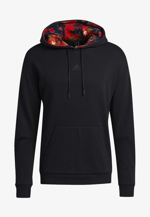 GRAPHIC HOODED SWEATSHIRT - Sweatshirt - black