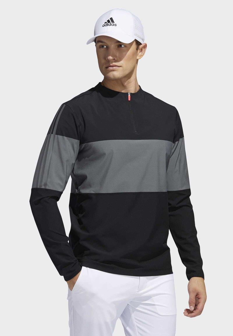 adidas Golf - LIGHTWEIGHT LAYERING SWEATSHIRT - Sweatshirts - black