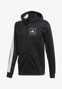 """adidas Performance - ADIDAS PERFORMANCE HERREN SWEATJACKE """"AAC FZ HOODIE"""" - Zip-up hoodie - black - 3"""