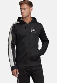 """adidas Performance - ADIDAS PERFORMANCE HERREN SWEATJACKE """"AAC FZ HOODIE"""" - Zip-up hoodie - black - 0"""
