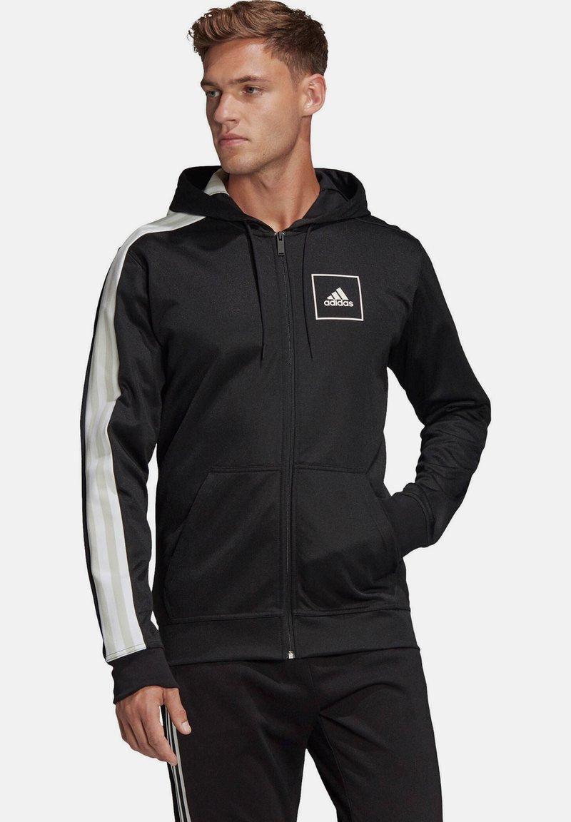 """adidas Performance - ADIDAS PERFORMANCE HERREN SWEATJACKE """"AAC FZ HOODIE"""" - Zip-up hoodie - black"""