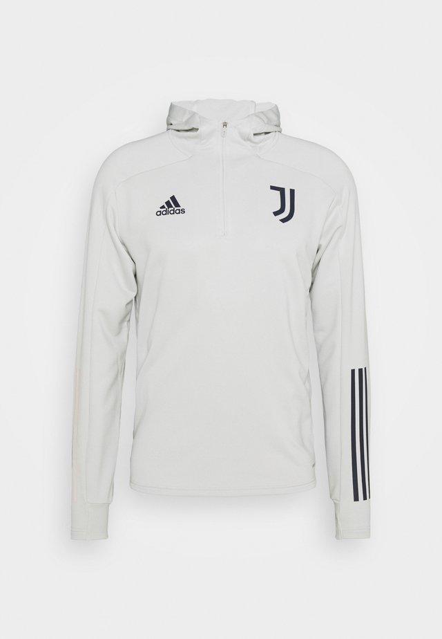 JUVENTUS SPORTS FOOTBALL HOODED  - Klubbkläder - grey/blue