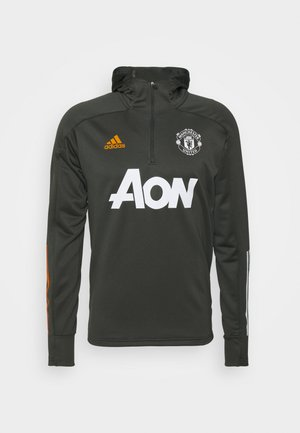 MANCHESTER UNITED FOOTBALL HOODED  - Fanartikel - olive