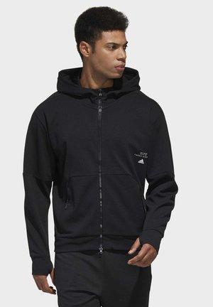 MUST HAVES ENHANCED AEROREADY HOODED - veste en sweat zippée - black