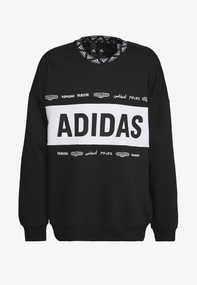 ONE TEAM CREW - Sweatshirt - black