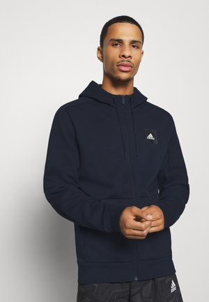 MUST HAVES ENHANCED SPORTS HOODED TRACK - Sudadera con cremallera - legink/legink