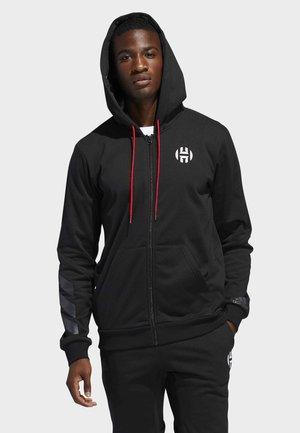 2020-01-01 HARDEN HOODIE - Hoodie met rits - black