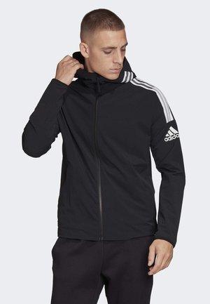 ADIDAS Z.N.E. WOVEN HOODIE - Zip-up hoodie - black