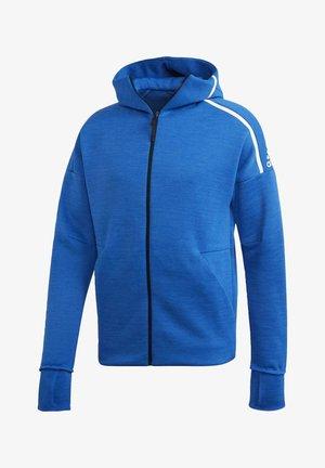 ADIDAS Z.N.E. FAST RELEASE HOODIE - Zip-up hoodie - blue