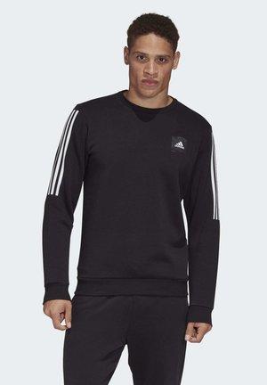 MUST HAVES FLEECE CREW SWEATSHIRT - Sweatshirt - black