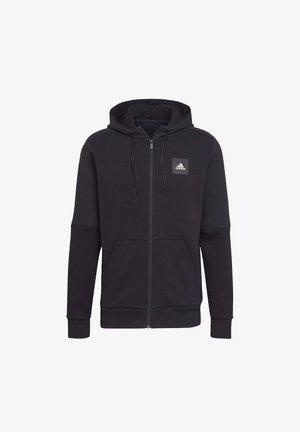 MUST HAVES FULL-ZIP STADIUM HOODIE - veste en sweat zippée - black