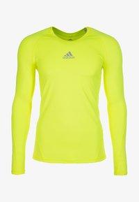 adidas Performance - T-shirt de sport - yellow - 0
