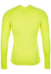 adidas Performance - T-shirt de sport - yellow - 1