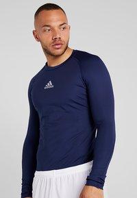 adidas Performance - T-shirt de sport - dark blue - 4