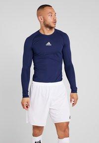 adidas Performance - T-shirt de sport - dark blue - 0