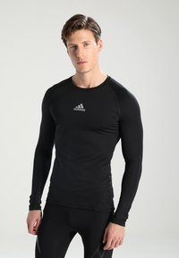 adidas Performance - Sportshirt - black - 0