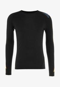 adidas Performance - ALPHASKIN SPORT MOTO COMPRESSION T-SHIRT - Sports shirt - black - 4