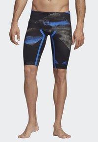 adidas Performance - ADIZERO XVIII FREESTYLE JAMMER - Zwemshorts - black/blue - 0