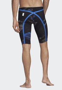 adidas Performance - ADIZERO XVIII FREESTYLE JAMMER - Zwemshorts - black/blue - 1