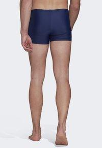 adidas Performance - BADGE SWIM FITNESS BOXERS - Zwemshorts - blue/orange - 2