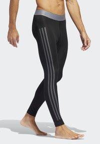 adidas Performance - ALPHASKIN 3-STRIPES LONG TIGHTS - Unterhose lang - black - 3