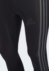 adidas Performance - ALPHASKIN 3-STRIPES LONG TIGHTS - Unterhose lang - black - 5