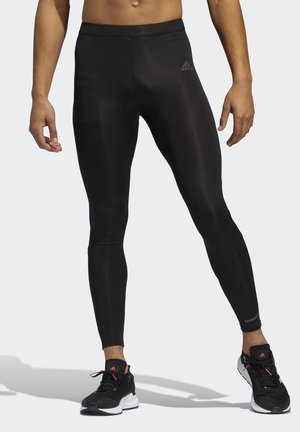 OWN THE RUN LONG TIGHTS - Pitkät alushousut - black