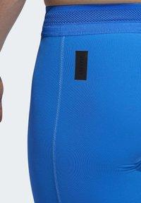 adidas Performance - TECH HEAT.RDY ZIGZAG LONG TIGHTS - Trikoot - blue - 6