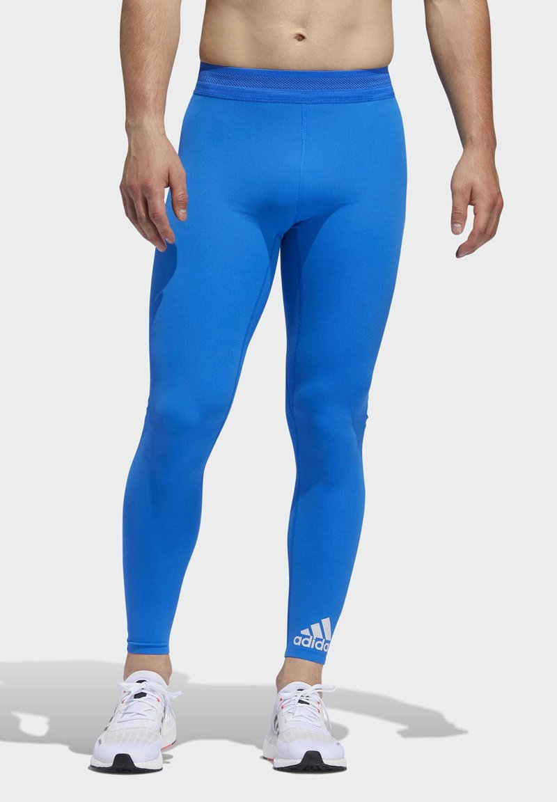 adidas Performance - TECH HEAT.RDY ZIGZAG LONG TIGHTS - Trikoot - blue