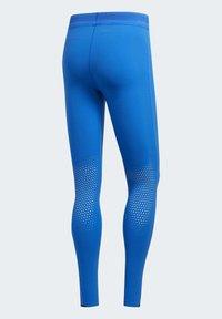 adidas Performance - TECH HEAT.RDY ZIGZAG LONG TIGHTS - Trikoot - blue - 12
