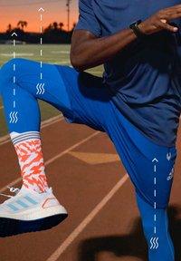adidas Performance - TECH HEAT.RDY ZIGZAG LONG TIGHTS - Trikoot - blue - 8