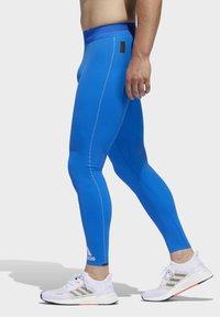 adidas Performance - TECH HEAT.RDY ZIGZAG LONG TIGHTS - Trikoot - blue - 3