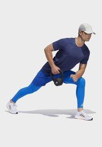 adidas Performance - TECH HEAT.RDY ZIGZAG LONG TIGHTS - Trikoot - blue - 4